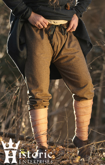Trousers, Anglo-Saxon, Wool, MADE TO ORDER